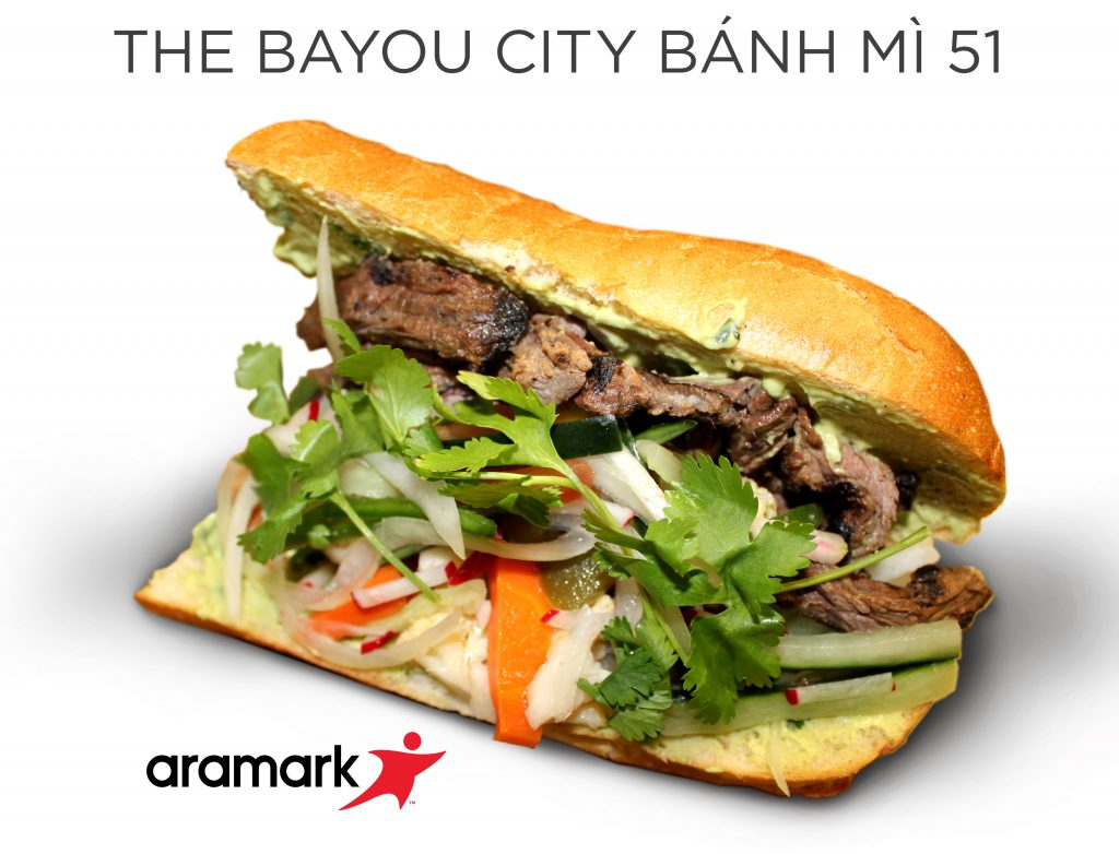 Super Bowl L menu item Bayou City Banh Mi 51