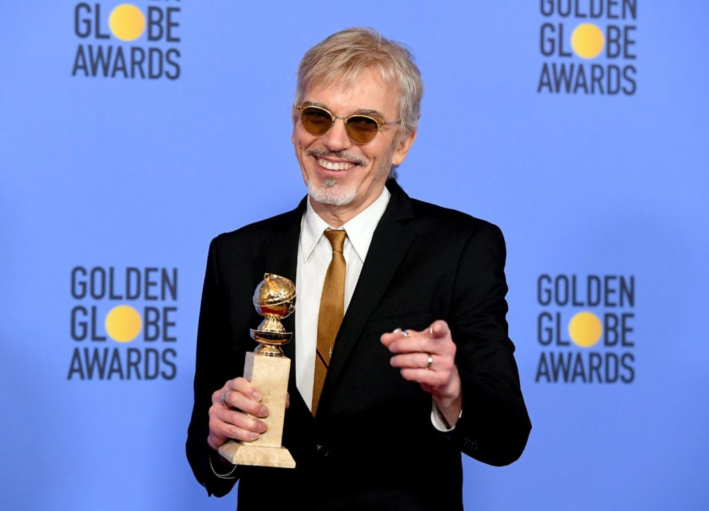 Billy Bob Thornton at the 2017 Golden Globe Awards