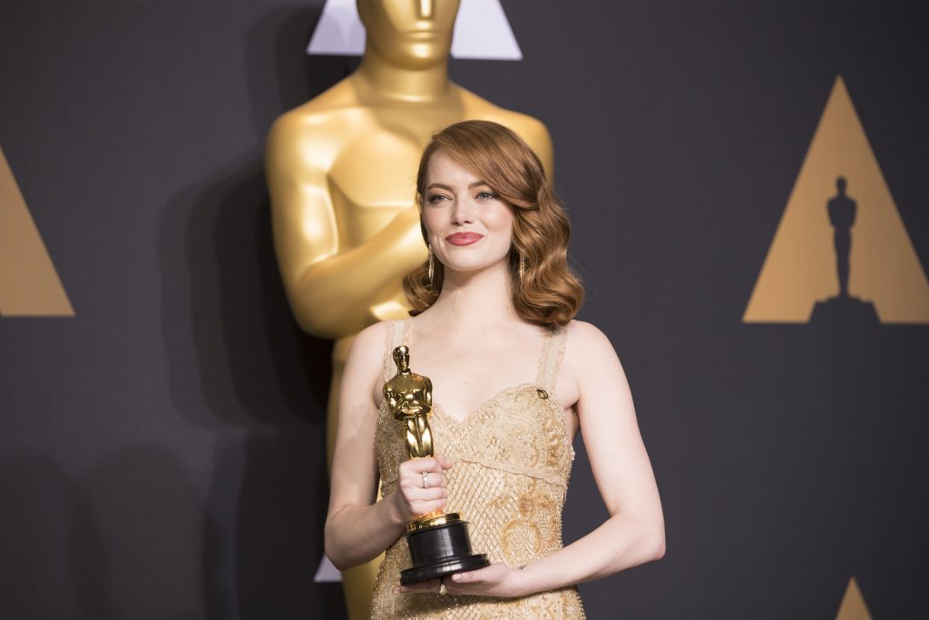 Emma Emma Stone at the 2017 Academy Awards in Los Angeles