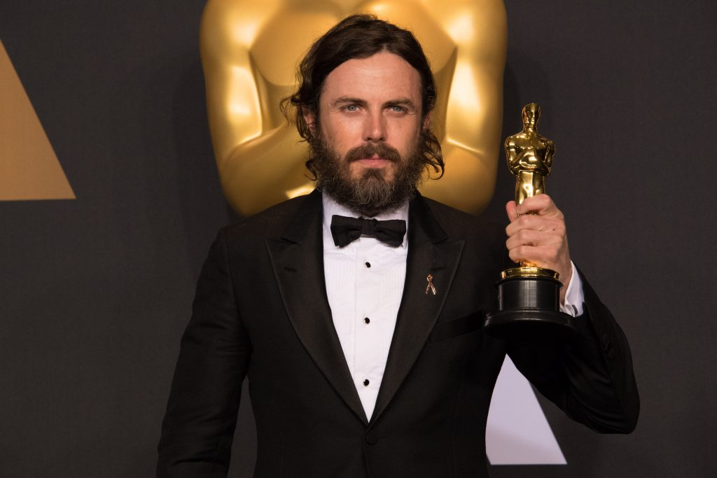 Casey Affleck at the 2017 Academy Awards in Los Angeles.