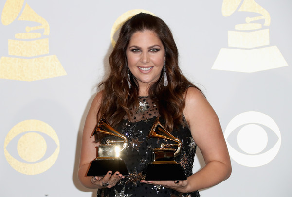 Hillary Scott at the 59th Annual Grammy Awards at the Shrine Auditorium in Los Angeles on February 12, 2017.
