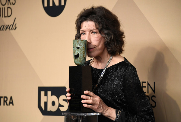 Lily Tomlin at the 29th Annual Screen Actors Guild Awards at the Shrine Auditorium in Los Angeles on January 29, 2017.