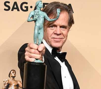 William H. Macy at the 29th Annual Screen Actors Guild Awards at the Shrine Auditorium in Los Angeles on January 29, 2017.