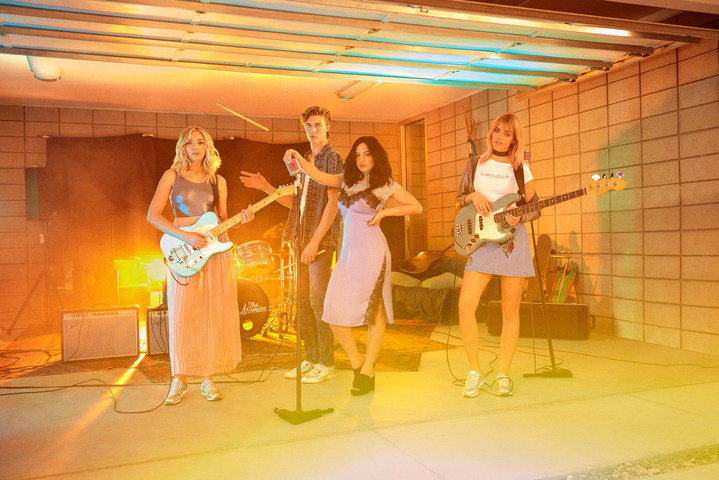 The Atomics star in the 2017 H&M Loves Coachella campaign.