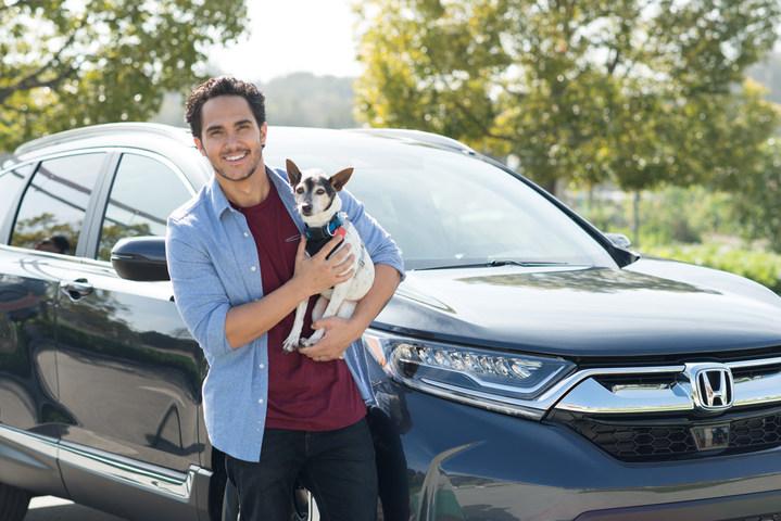 Carlos PenaVega in Honda's 2017 CR-V SUV campaign
