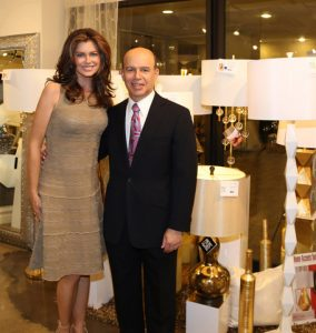 Kathy Ireland and Clark Linstone