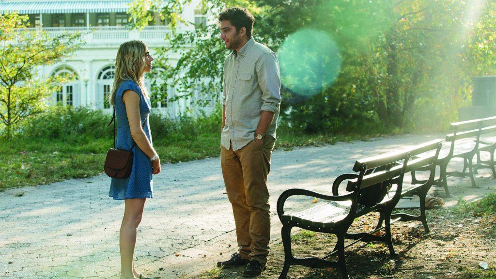 "Zosia Mamet and Matt Schear as Ben in ""The Boy Downstairs"""