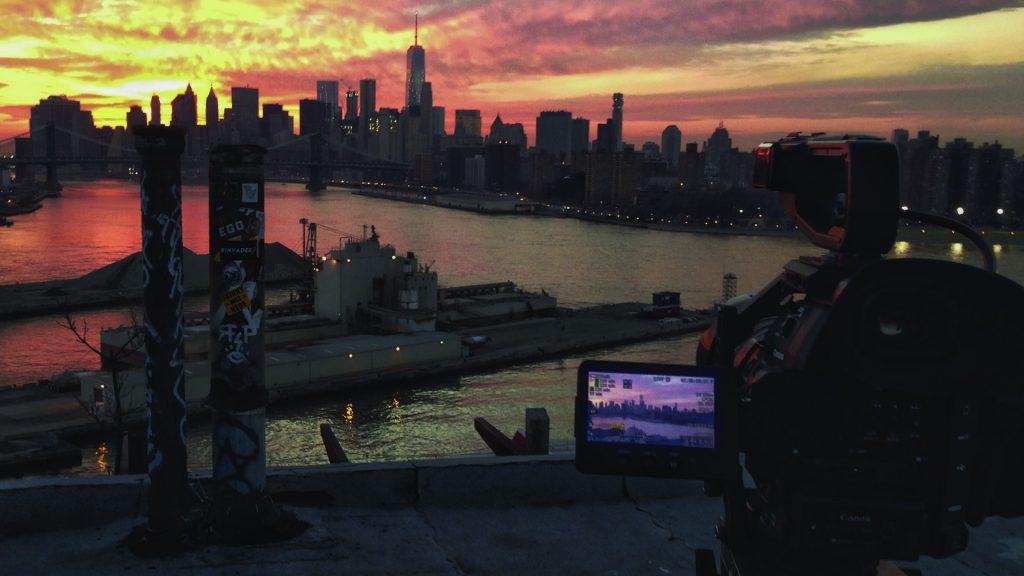 """A film still from """"Shooting War"""""""