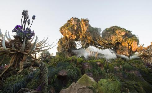 Pandora at Disney Animal Kingdom at Walt Disney Resort in Lake Buena Vista, Florida