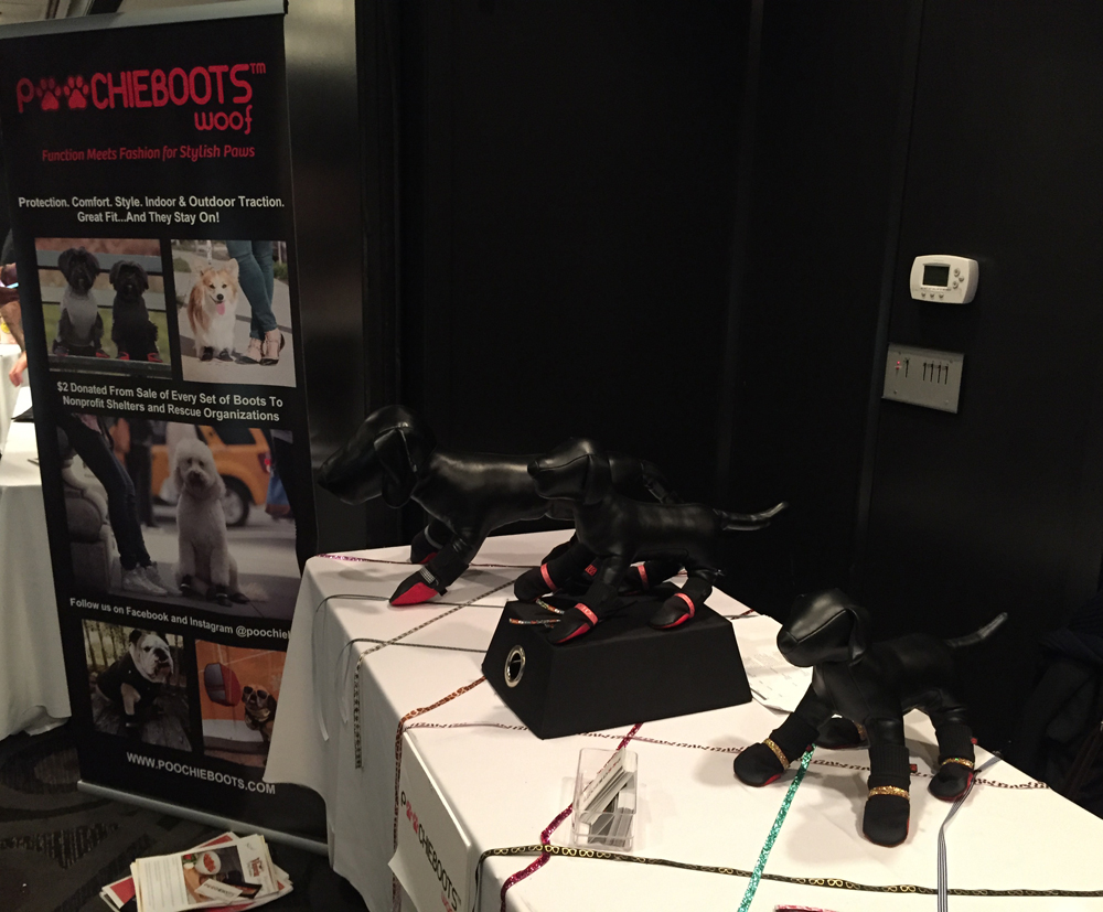 Poochie Boots at Consumer Product Events