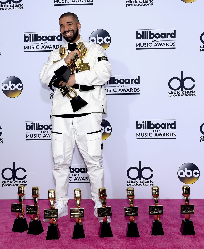 Drake at the 24th Annual Billboard Music Awards at T-Mobile Arena in Las Vegas on May 21, 2017.