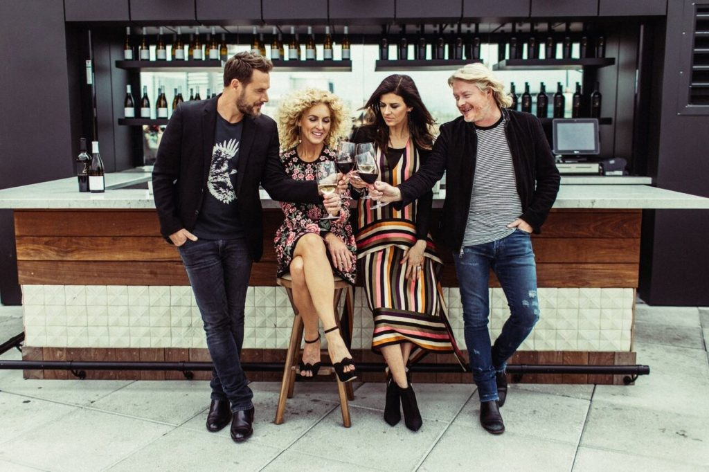 Little Big Town Launches Wine Brand 4 Cellars Culture Mix