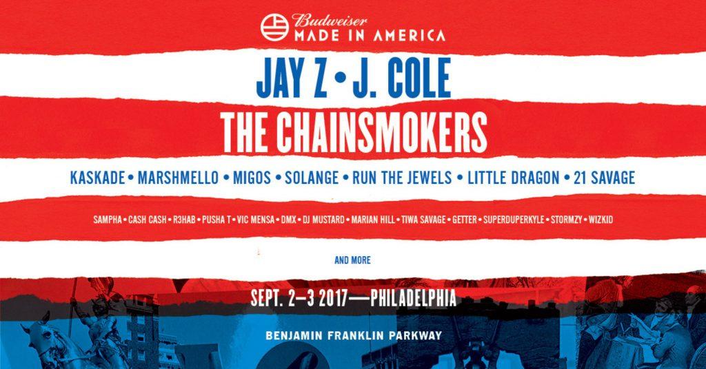 Budweiser Made In America Festival Philadelphia