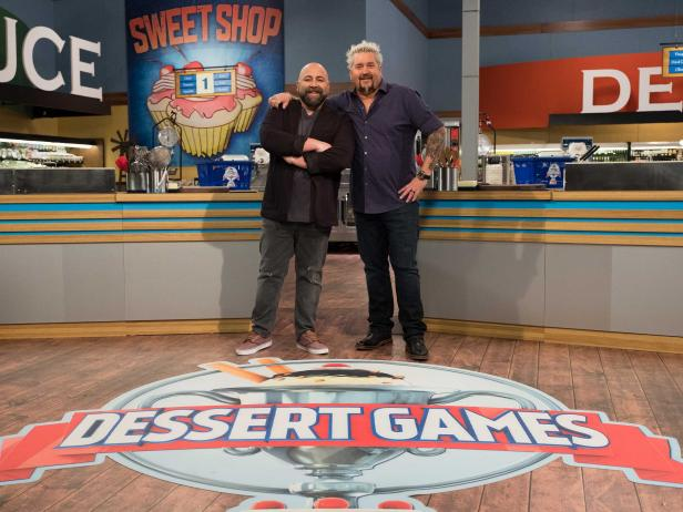 Duff Goldman and Guy Fieri (Photo courtesy of Food Network)