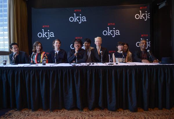 """Okja"" press conference in New York City"