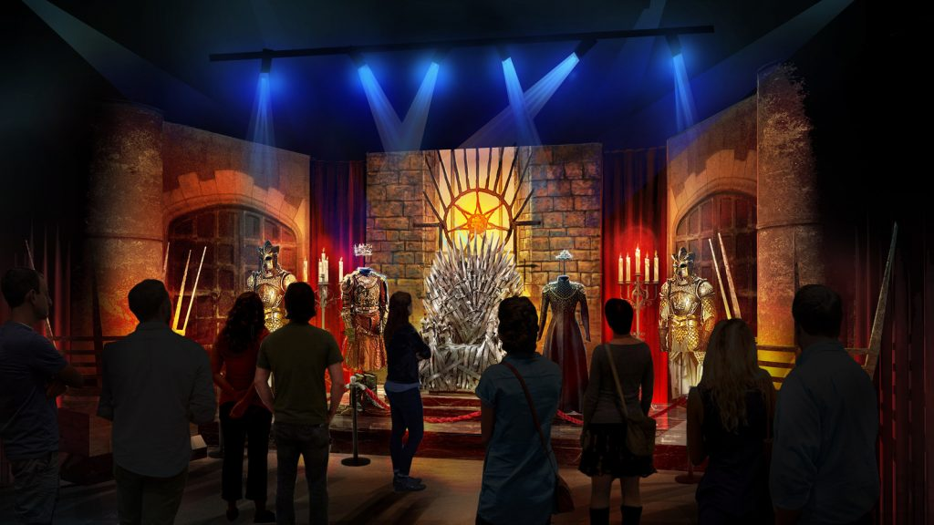 """""""Game Of Thrones"""" Throne Room"""