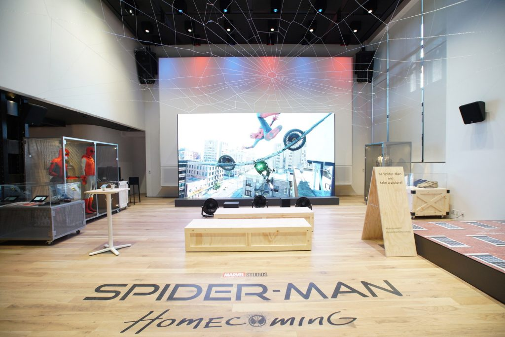 Sony Square NYC opens Spider-Man exhibit for a limited ...