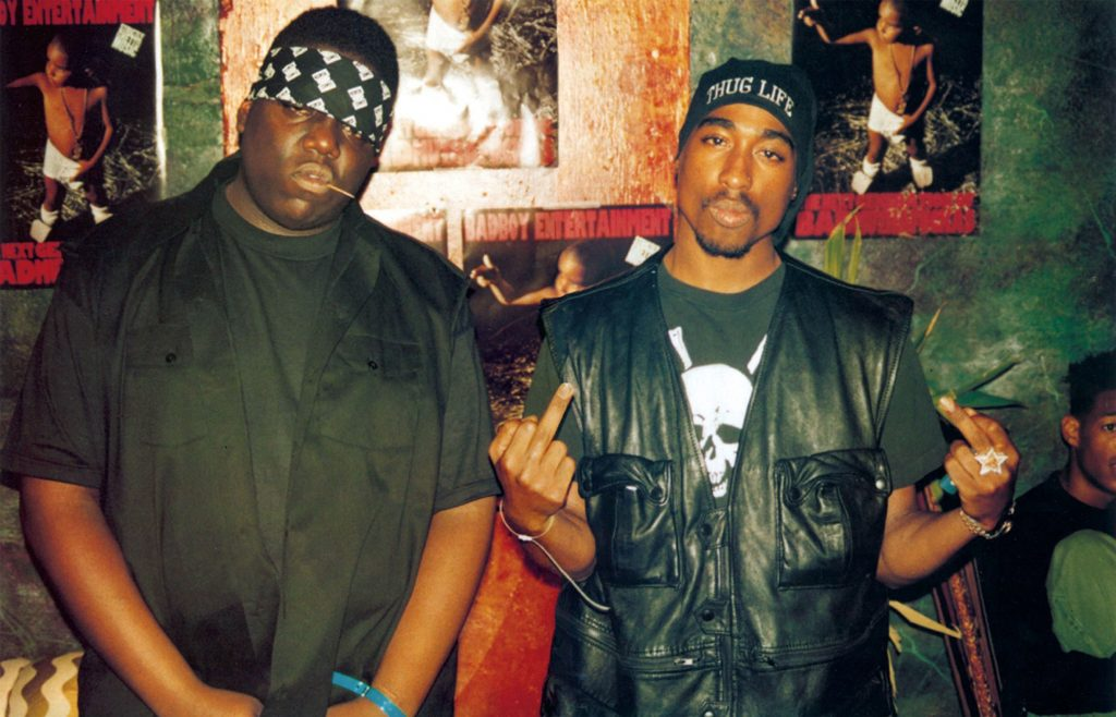 Biggie Smalls and Tupac Shakur
