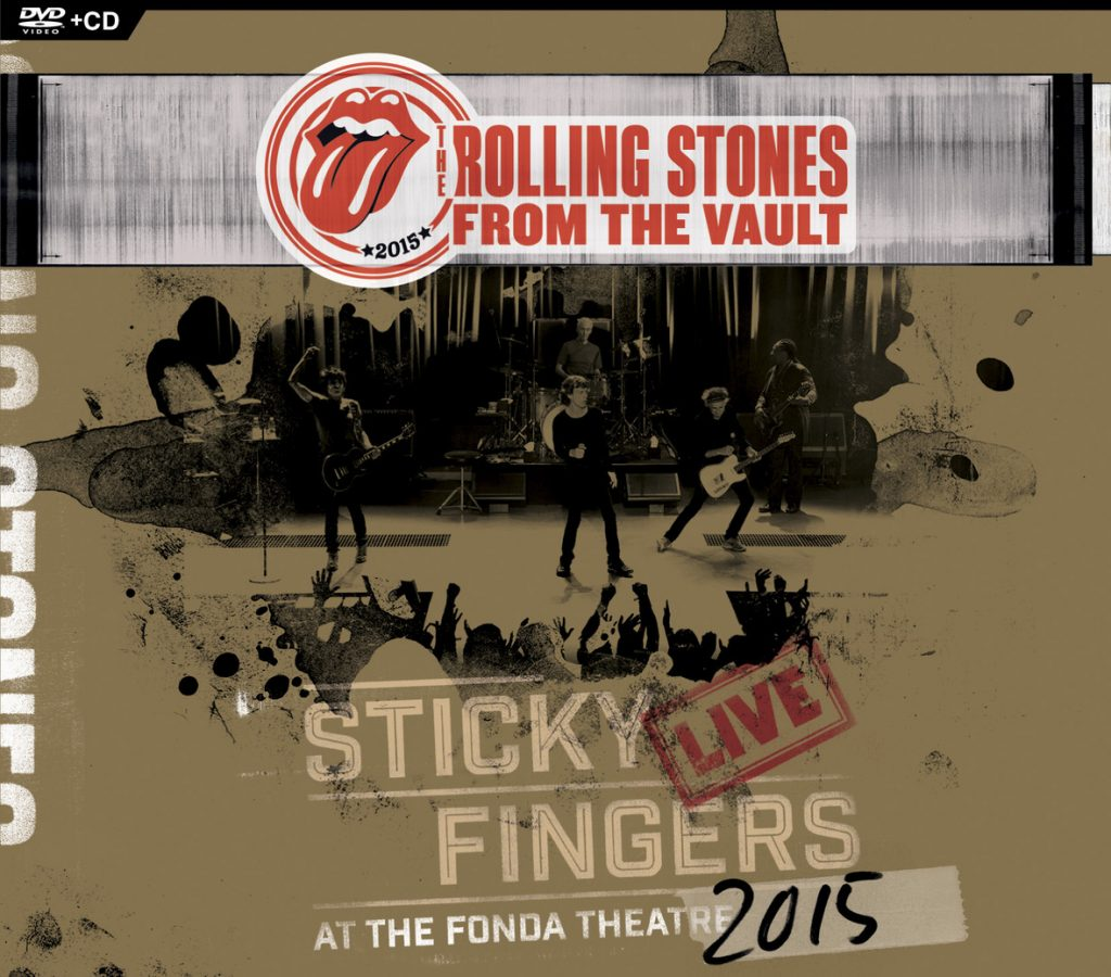 """""""The Rolling Stones' From The Vault: Sticky Fingers: Live At The Fonda Theatre 2015"""" (Photo courtesy of Eagle Rock Entertainment)"""