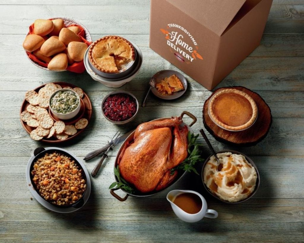 Boston Market's Complete Thanksgiving Meal for 12