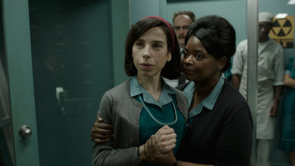 "Sally Hawkins and Octavia Spencer in ""The Shape of Water"" (Photo courtesy of Fox Searchlight Pictures)"