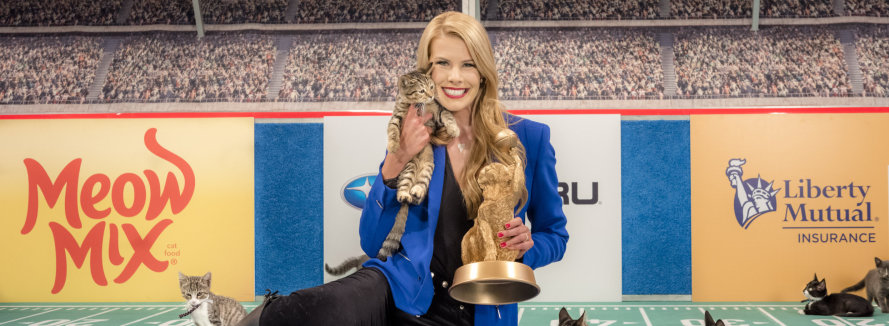 Kitten Bowl host Beth Stern