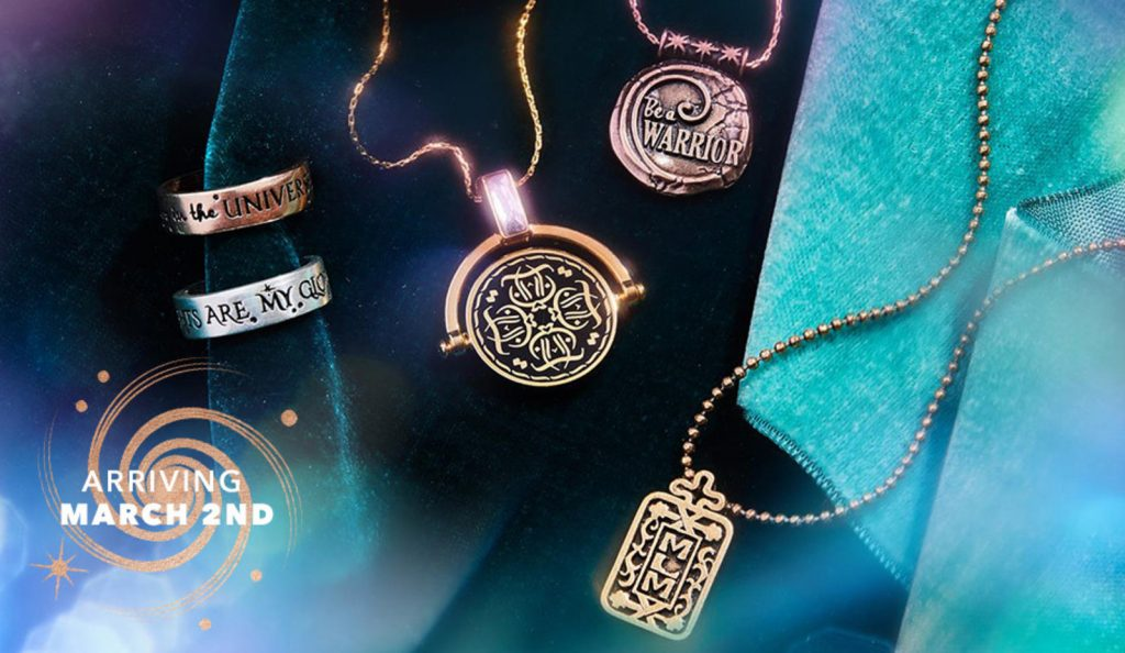 "Disney's ""A Wrinkle In Time"" Collection By Alex and Ani (Photo courtesy of Alex and Ani)"