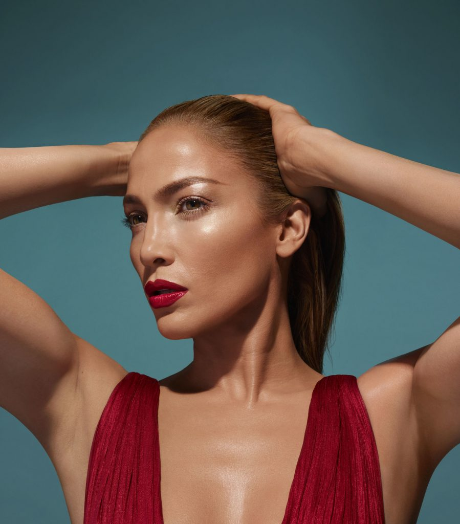 Jennifer Lopez (Photo courtesy of Inglot Cosmetics)